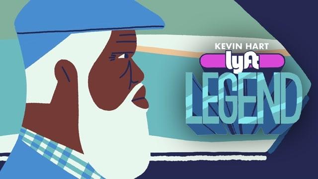 Kevin Hart: Lyft Legend Art