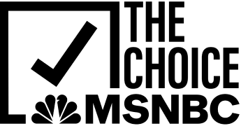 The Choice by MSNBC Logo