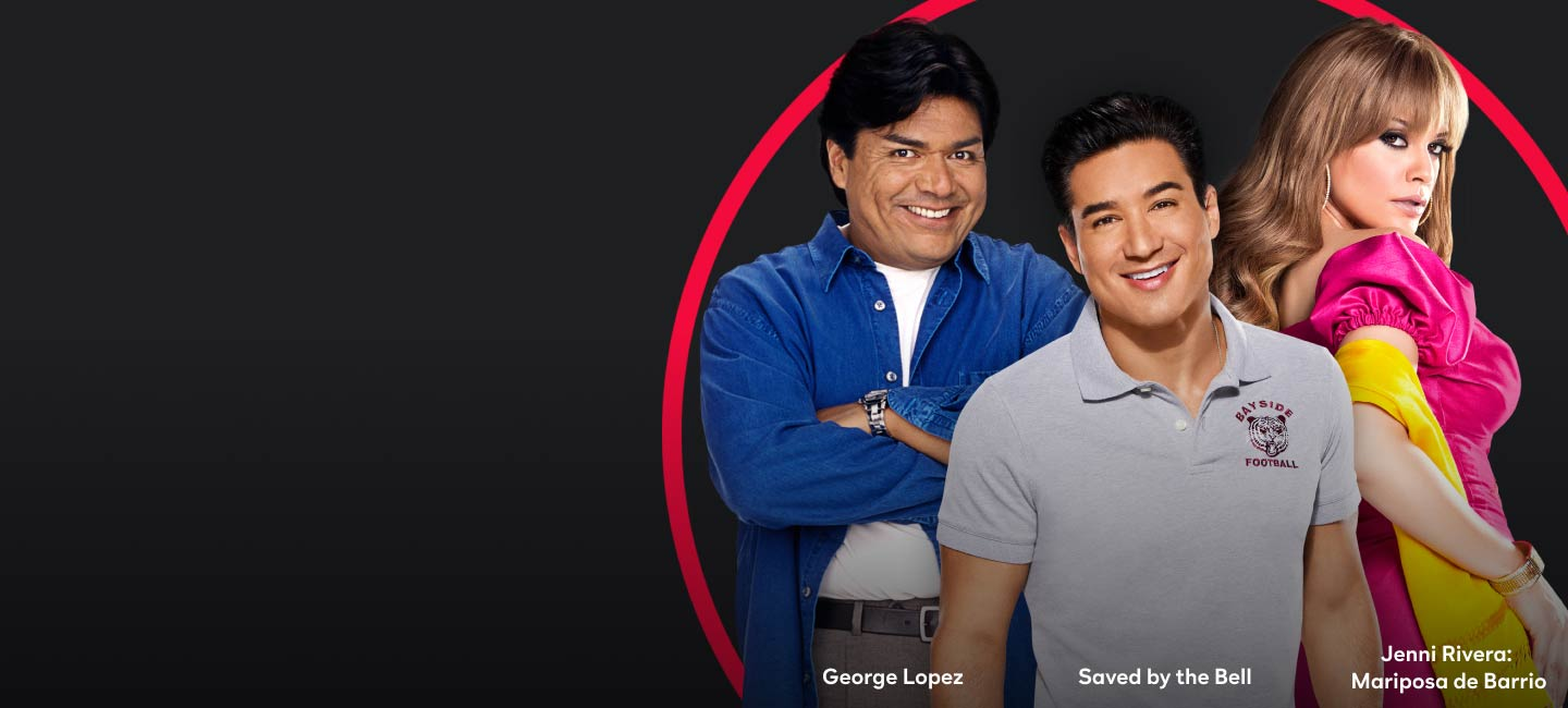 George Lopez, Saved by the Bell, Jenni Rivera; Mariposa de Barrio