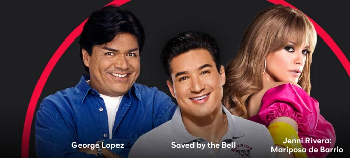 George Lopez, Saved by the Bell, Jenni Rivera: Mariposa de Barrio