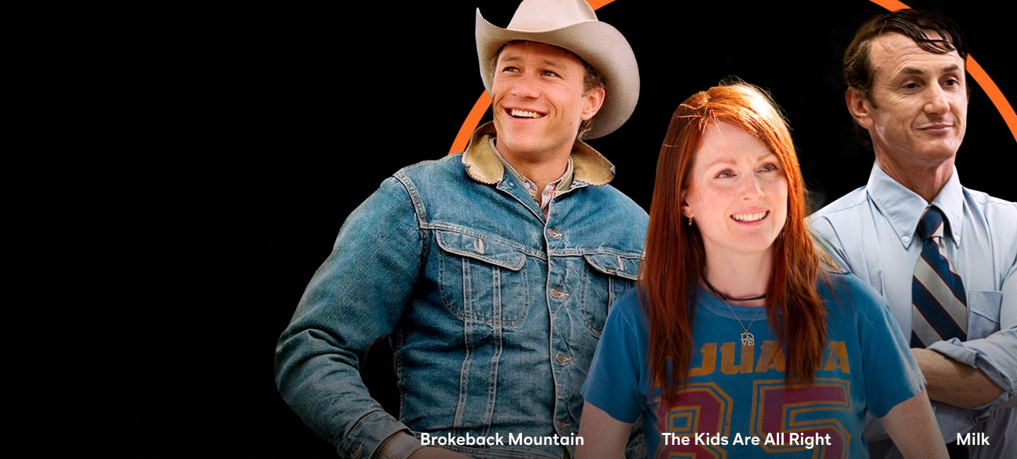 Brokeback Mountain, The Kids Are All Right, and Milk Image
