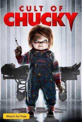 Cult of Chucky Vertical Art