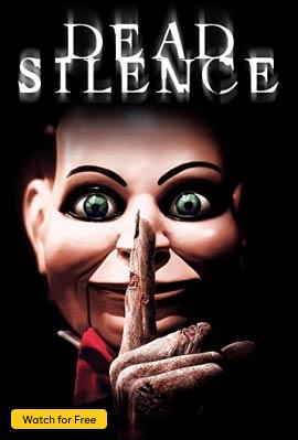Dead Silence Vertical Art