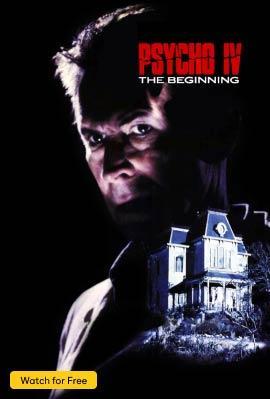 Psycho IV: The Beginning Vertical Art