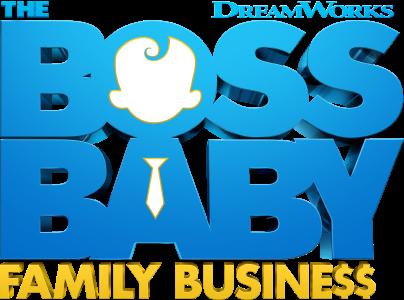Boss Baby: Family Business Logo