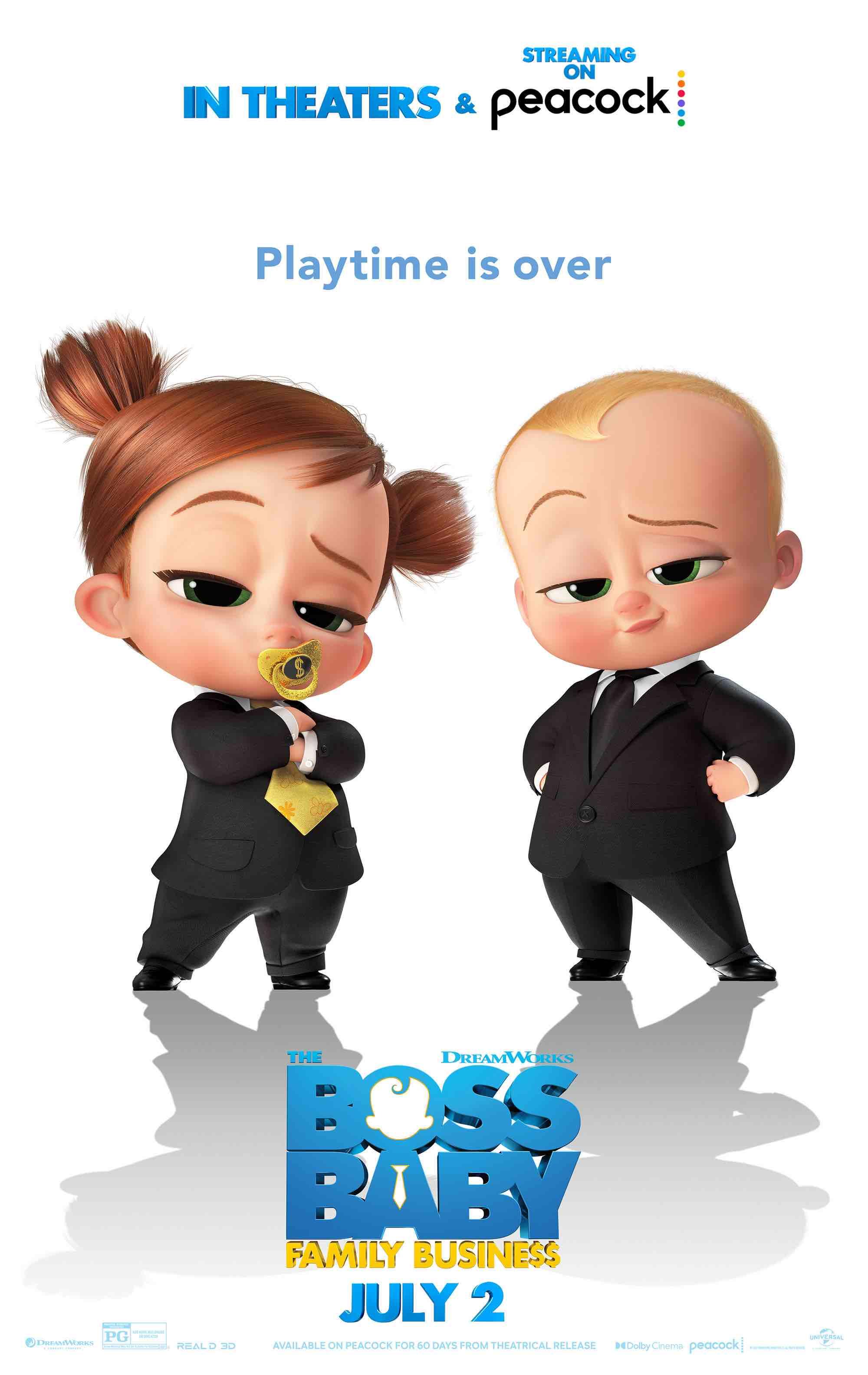 Boss Baby: Family Business Art