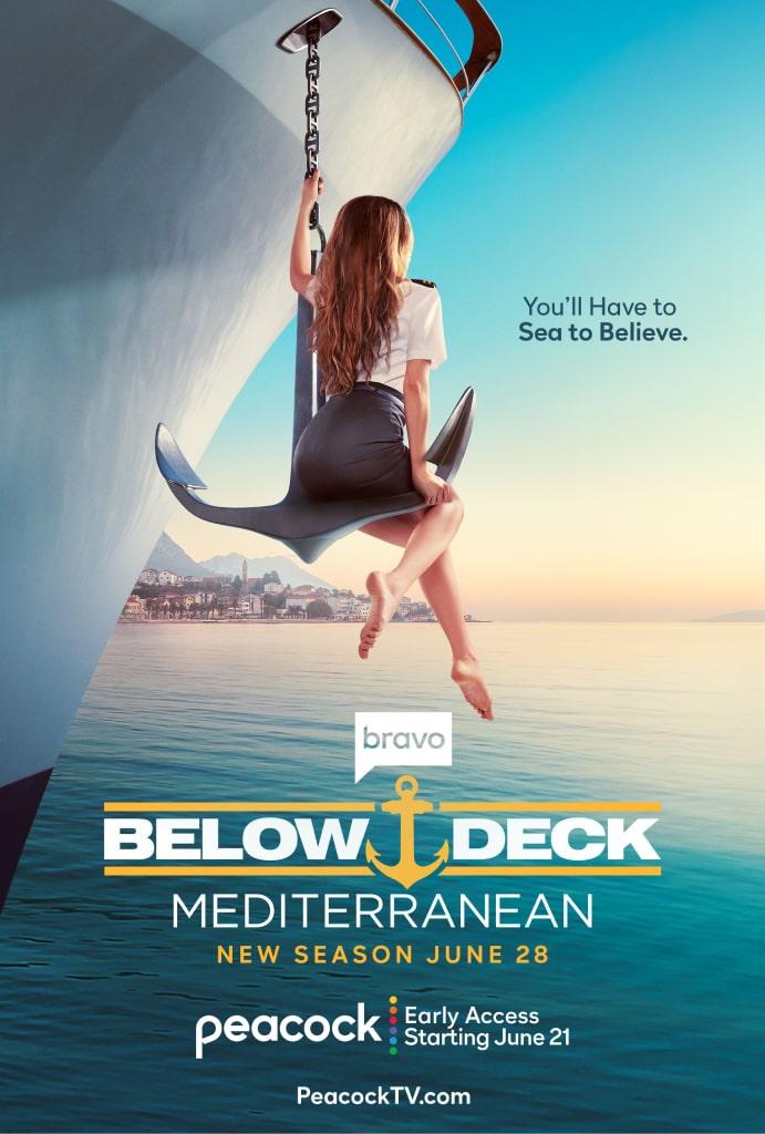 Below Deck Mediterranean Key Art