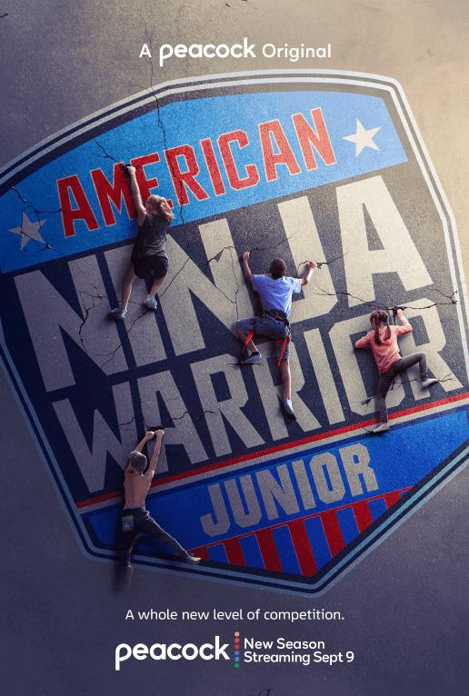 American Ninja Warrior Jr. Vertical Art