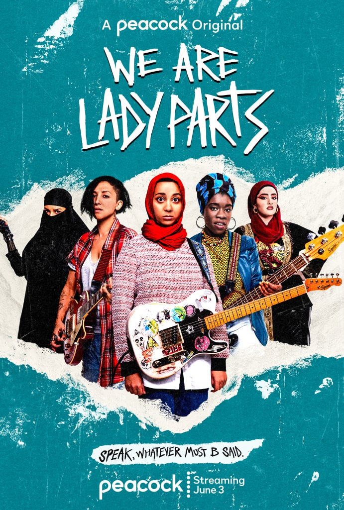 We Are Lady Parts  Vertical Art