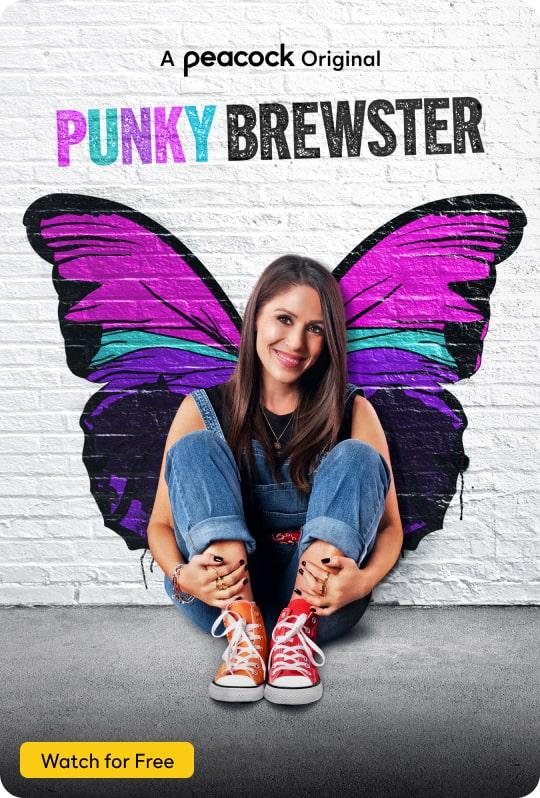 Punky Brewster Vertical Art