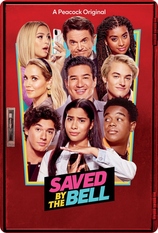 Saved by the Bell Vertical Key Art