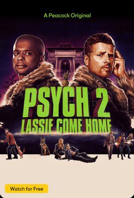 Psych 2 Lassie Come Home Vertical Art