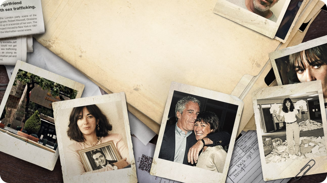 Epstein's Shadow: Ghislaine Maxwell Image
