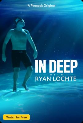 In Deep with Ryan Lochte Vertical Key Art