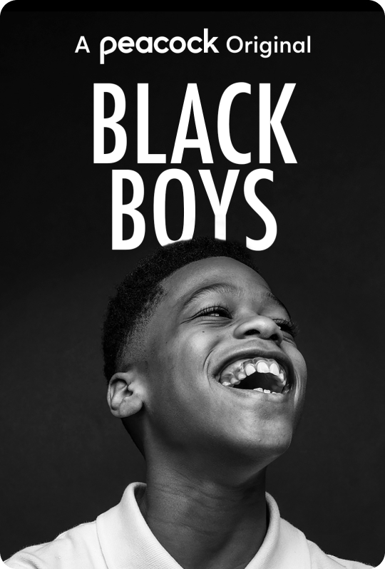 Black Boys Vertical Art
