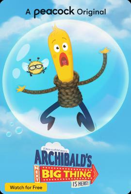 Archibald's Next Big Thing Vertical Art