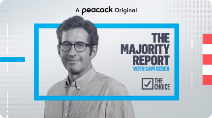 The Majority Report Key Art