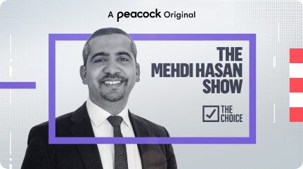 Mehdi Hasan Show Key Art