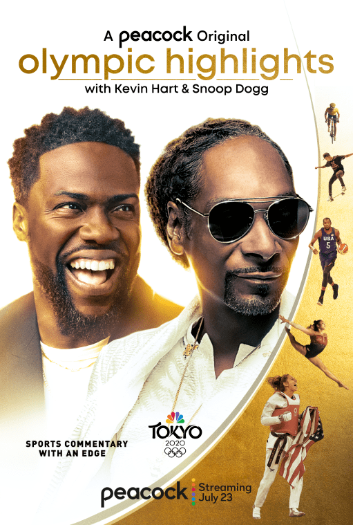 Olympic Highlights with Kevin Hart and Snoop Dogg Vertical Art