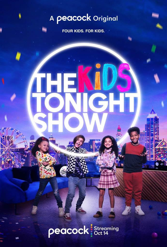 The Kids Tonight Show Vertical Art