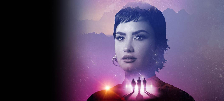 Unidentified with Demi Lovato Hero Desktop Image