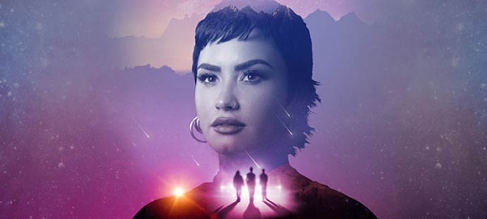 Unidentified with Demi Lovato Mobile Image