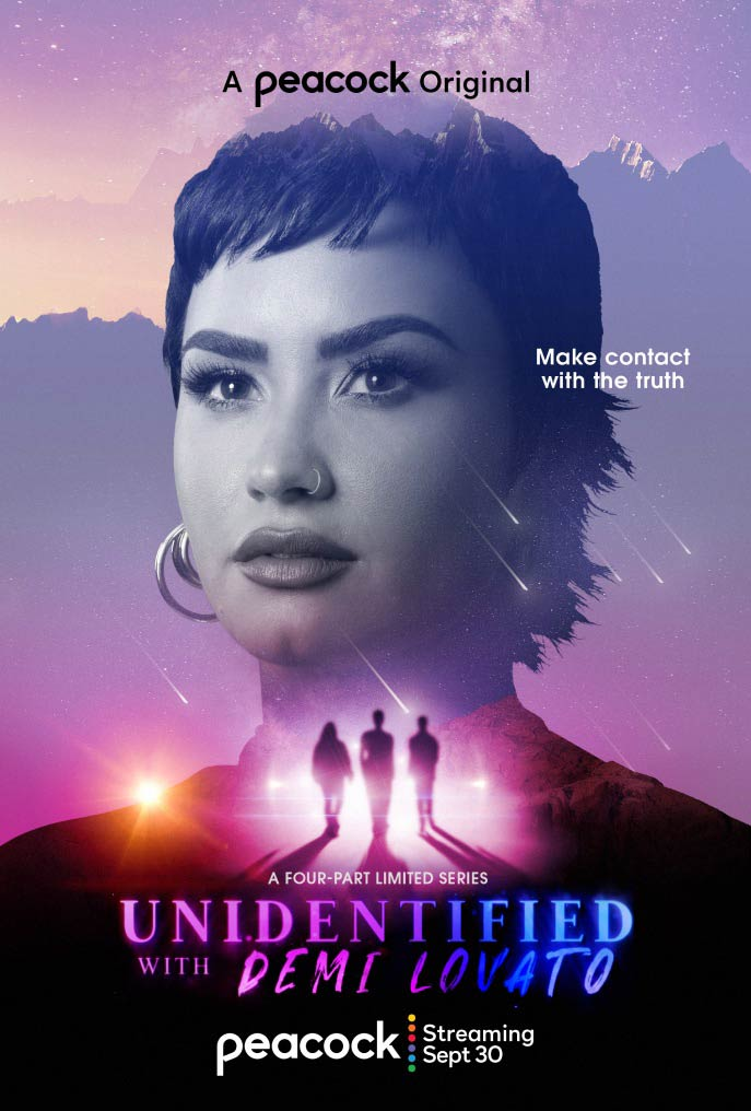 Unidentified with Demi Lovato  Vertical Art
