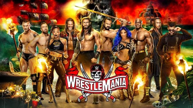 WrestleMania 37 Image